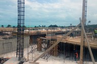 Construction Progress Photo - April 2014